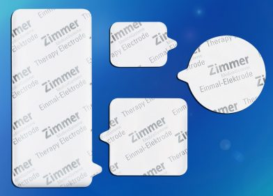 Zimmer ZTrodes - Single Use Electrodes Round - Large - Small - Square