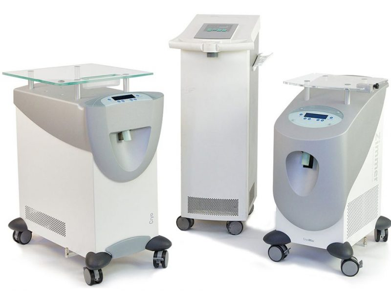 Zimmer Cryo Therapy Chiller Family Cryo 6 Cryo Mini Cryo 5