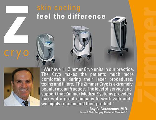 Roy Geronemus Zimmer Cryo Testimonial