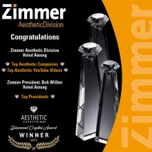 Zimmer Wins Aesthetic Everything Awards 2017