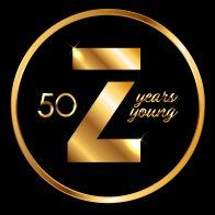 Zimmer 50 Years Anniversary logo