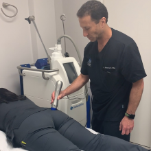 Dr Merrick Elias - Z Wave demo for cellulite