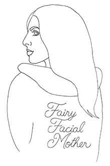 Jacklyn Banayan - Fairy Facial Mother logo - Zimmer Cryo