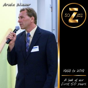 Zimmer Celebrates 50 Years Young